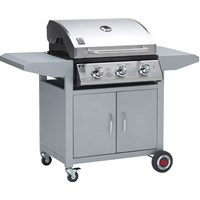 Landmann  3 Burner Stainless Steel Gas BBQ