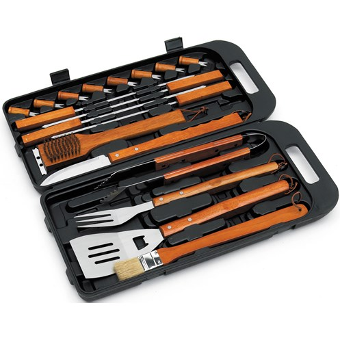 Landmann  Stainless Steel BBQ Tool Set - 18 Piece