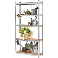 5 Tier Boltless Galvanised Shelving Unit - 1.78M (H)