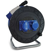 Safeline  Blue Artic Cable Reel With 16 Amp Plug- 25 Metre
