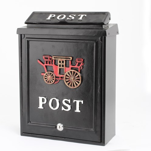 De Vielle  Diecast Post Box - Carriage