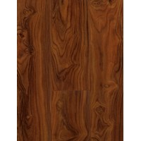 Canadia Prestige Laminate Flooring 12mm - Gloss American Walnut